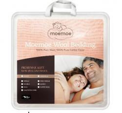 Moemoe  NZ 100% Wool Duvet for Adults' Beds