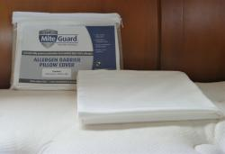 MiteGuard Standard Pillow Cover in 100% cotton