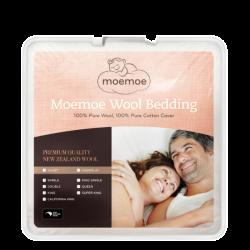 Moemoe 100%  NZ Wool Duvet 300gsm