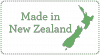 Proudly made in New Zealand